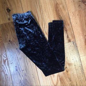 AE Velvet Texture Leggings